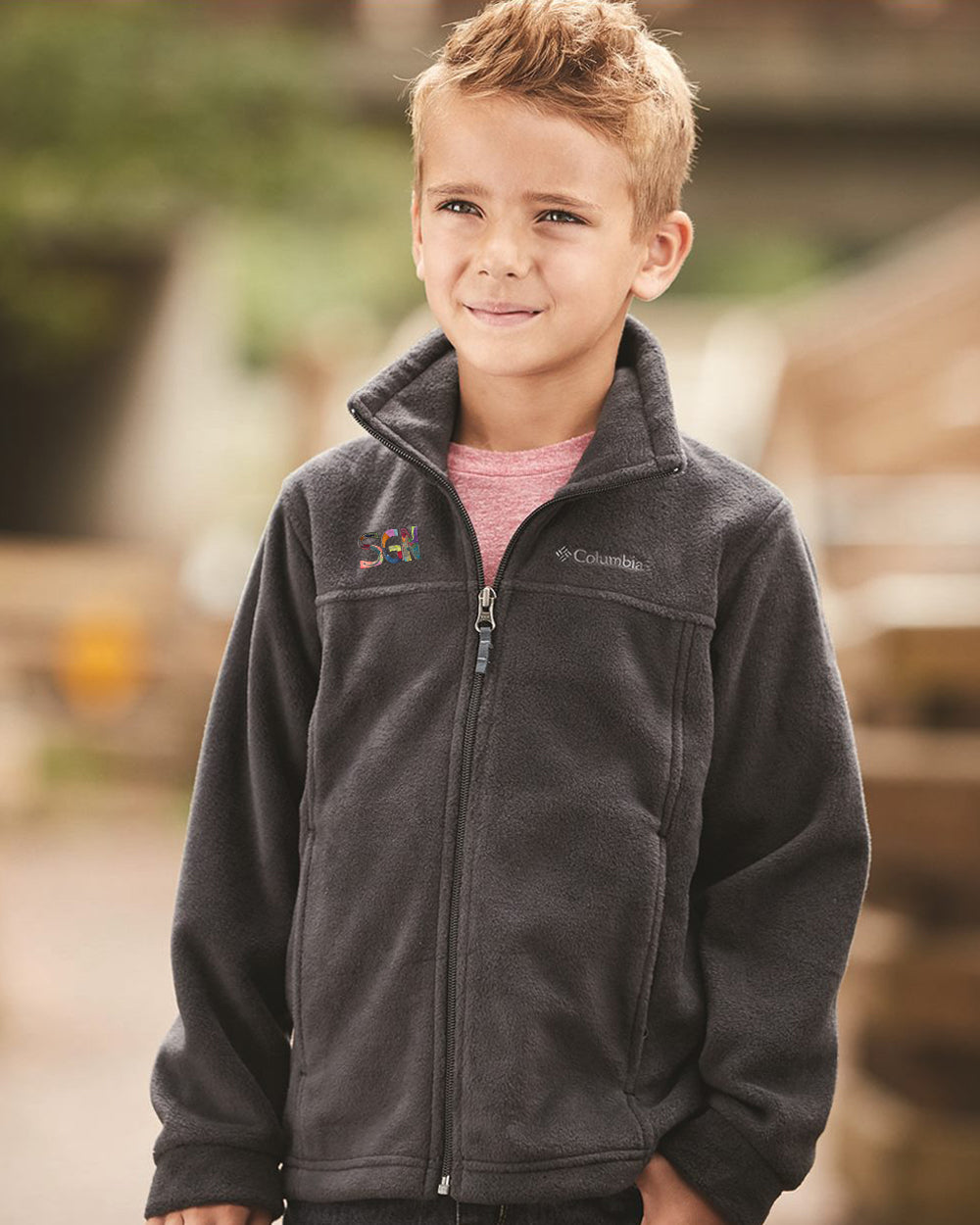 SGN CORRESPONDENT ZIP FLEECE - KIDS