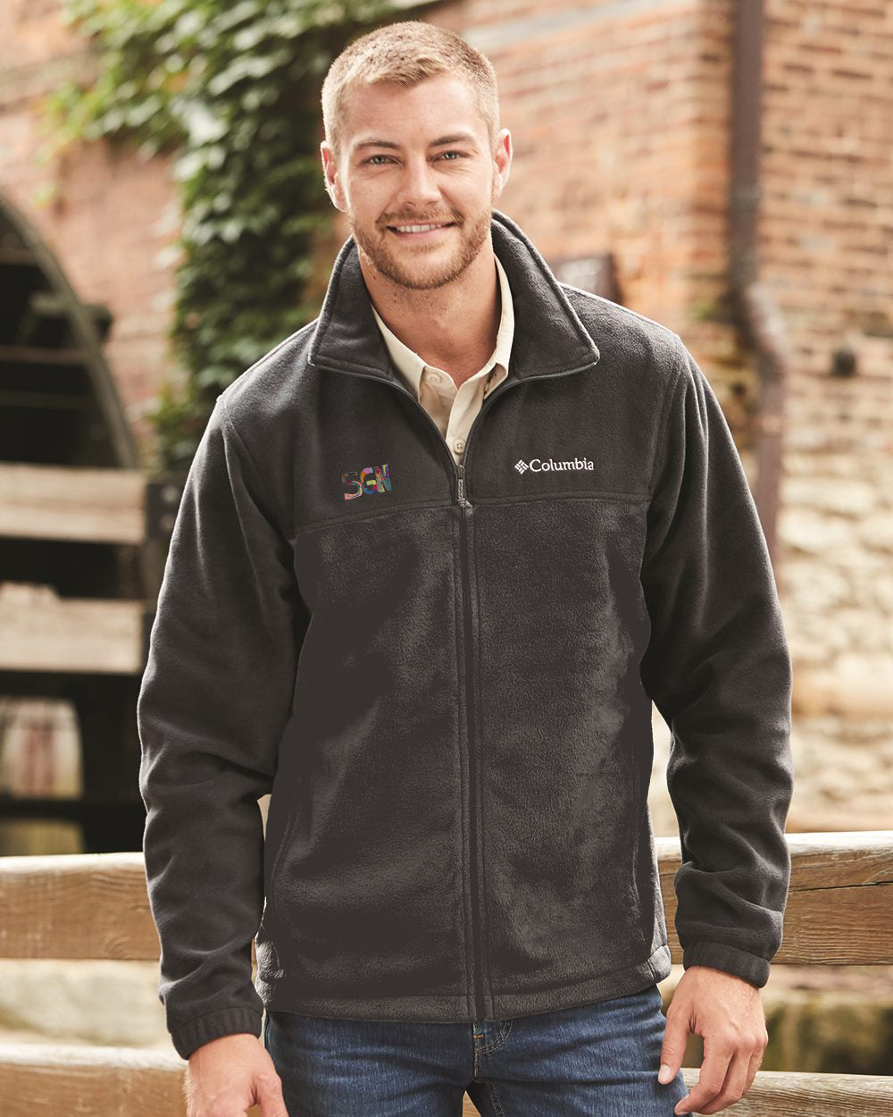SGN CORRESPONDENT ZIP FLEECE - ADULT MEN'S