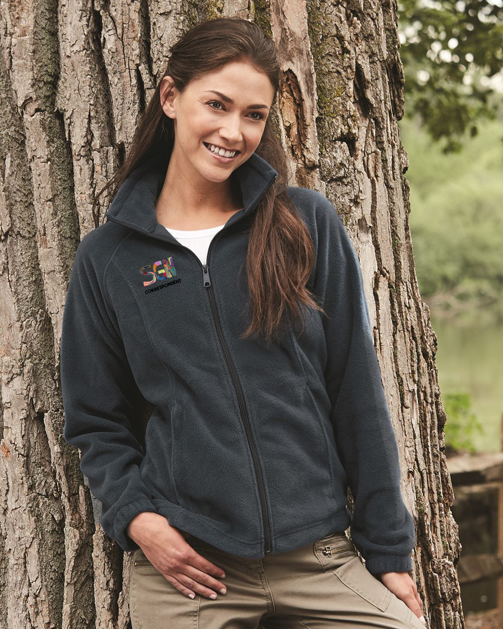 SGN CORRESPONDENT ZIP FLEECE - ADULT WOMEN'S