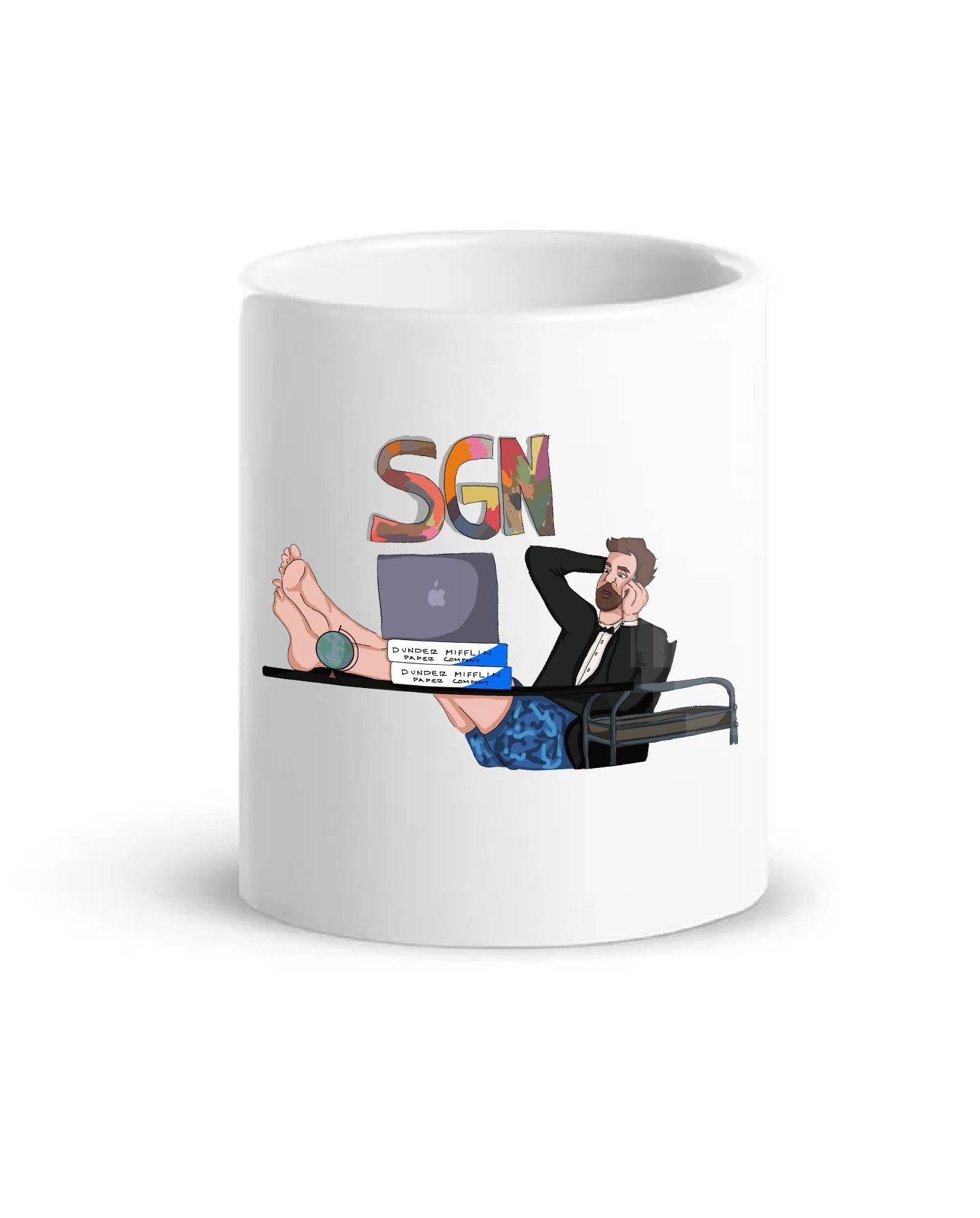 SGN Kick Back John Coffee Mug