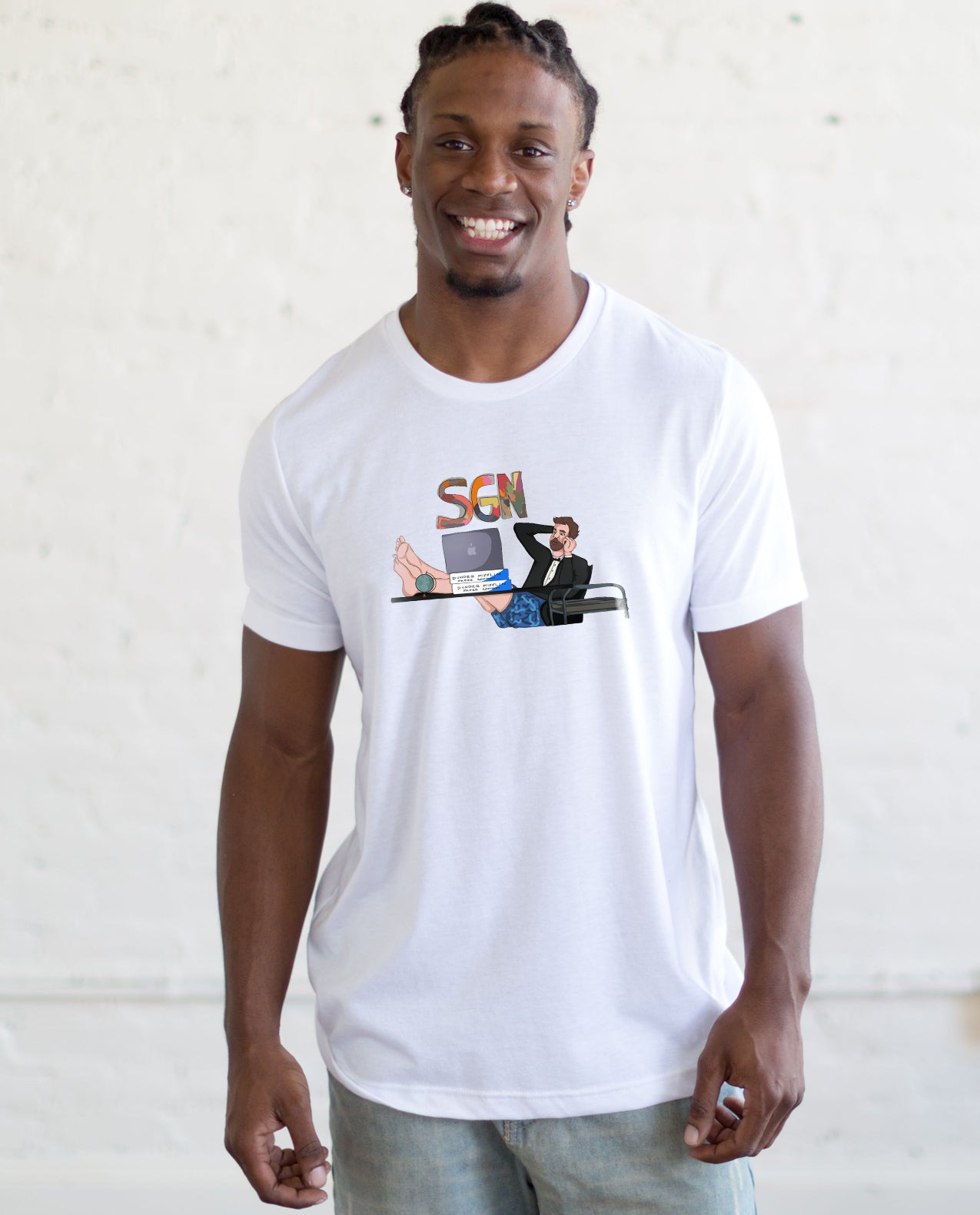 SGN Kick Back John Adult Tee