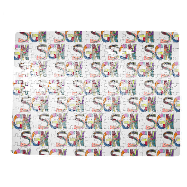 SGN Some Good News Logo Art Jigsaw Puzzle