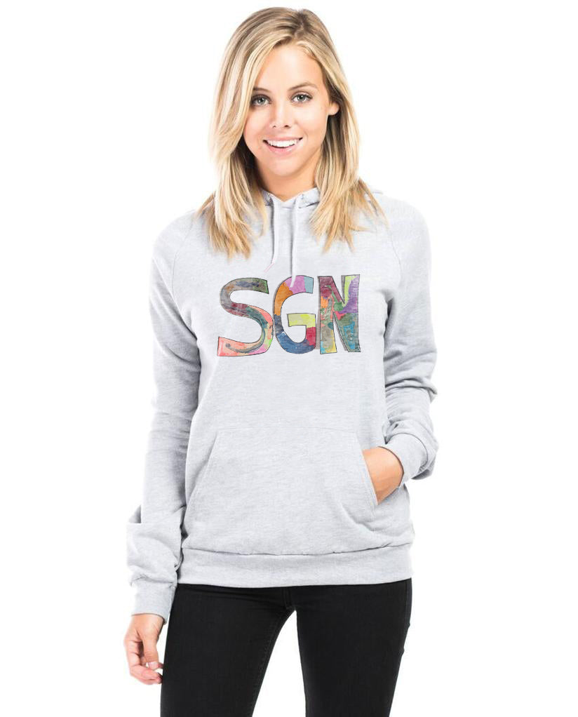 SGN Some Good News Logo Unisex Pullover Hooded Sweatshirt