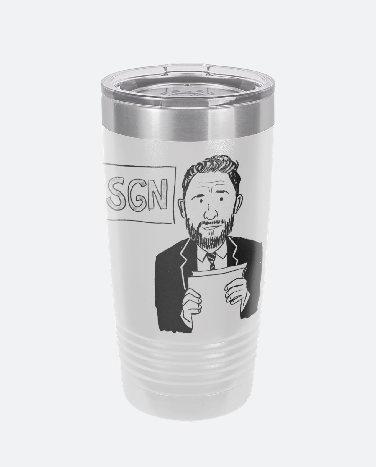SGN Some Good News Pen&Ink John - Tumbler Drinkware