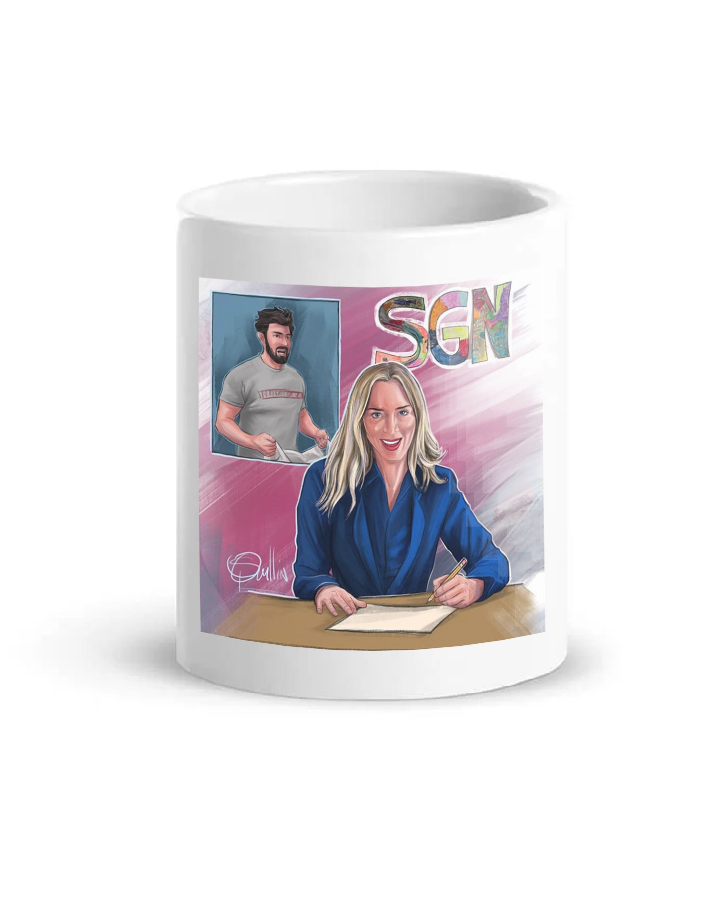 SGN She's Anchor Art Coffee Mug