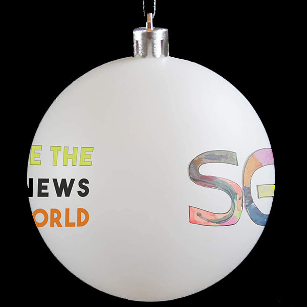 SGN You Are The Good News Special Holiday 2020 Christmas Ornament