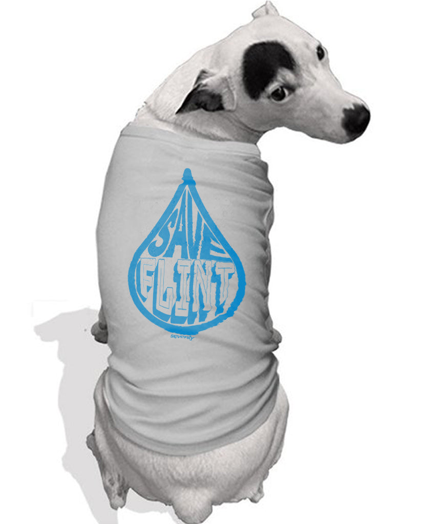 Save Flint Water - Dog Tee