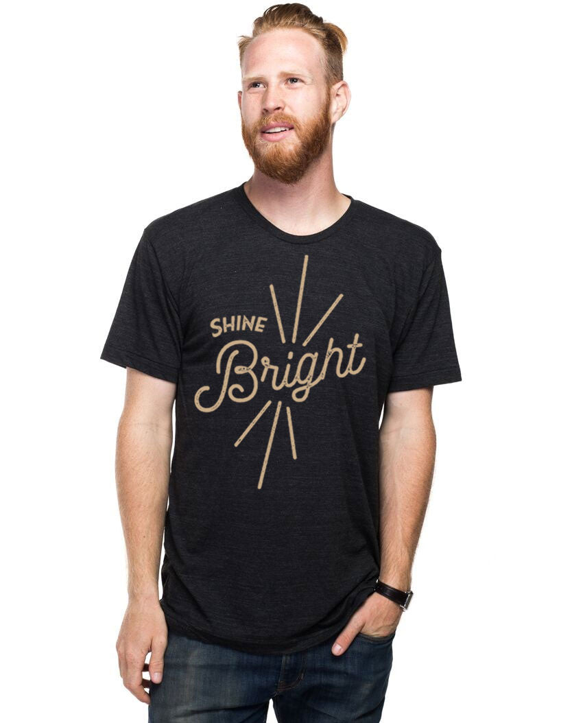 Shine Bright Fitted Tee