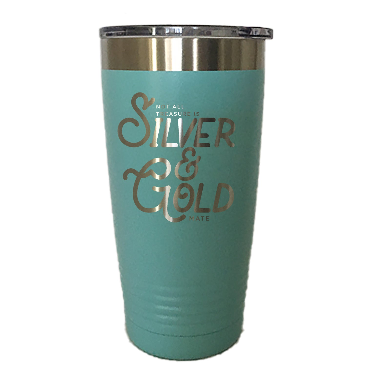 Silver And Gold - Tumbler Drinkware
