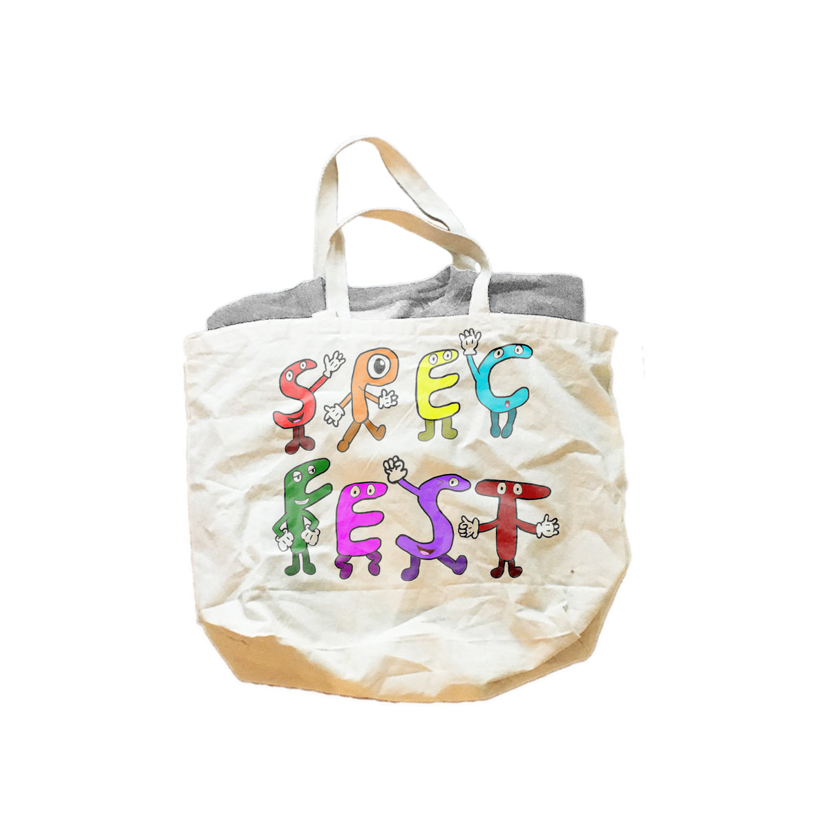 Spec Fest Logo Jumbo Cotton Canvas Tote Bag