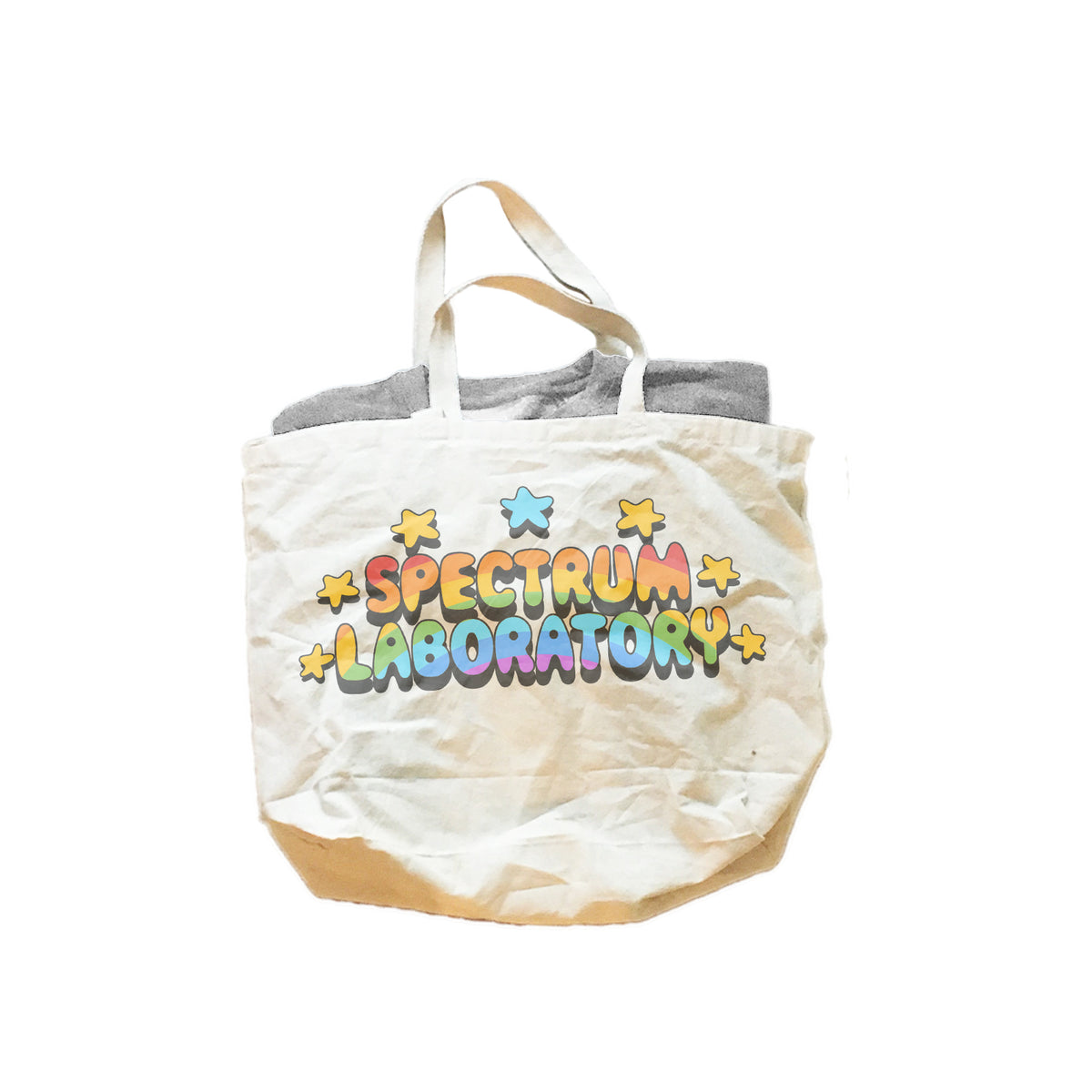 Spectrum Laboratory Logo Jumbo Cotton Canvas Tote Bag
