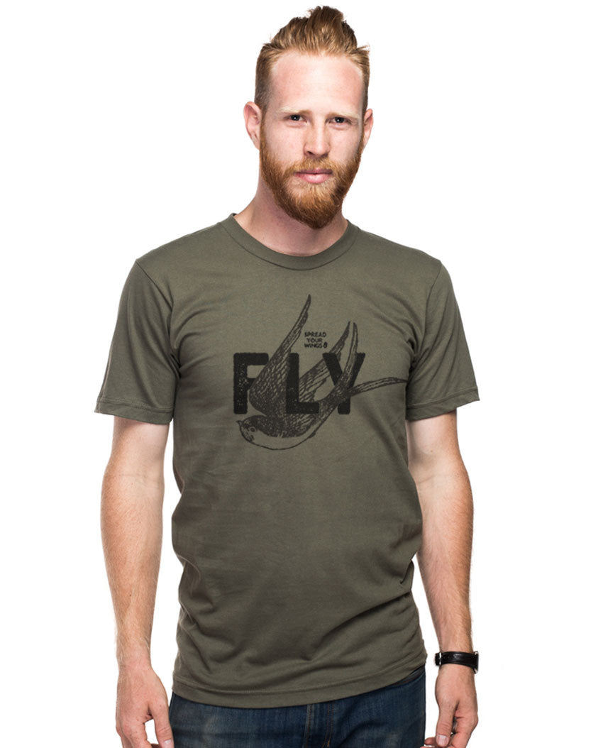 Spread Your Wings and Fly Fitted Tee