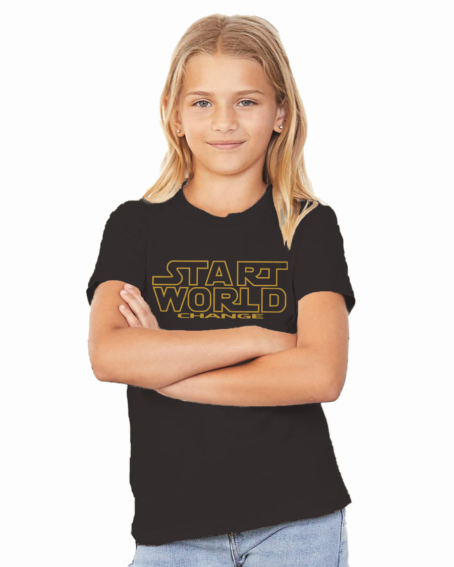 Start World Change Premium Classic Tee For The Family