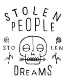 STOLEN PEOPLE STOLEN DREAMS Unisex Grey Crew Neck Sweatshirt