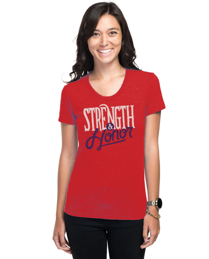 Strength & Honor Women's Slim Fit Short Sleeve Tee