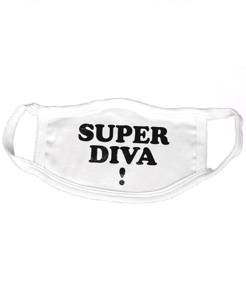 RBG Super Diva ! Reusable 2-ply Cotton Mask ($2 to $1 Match)