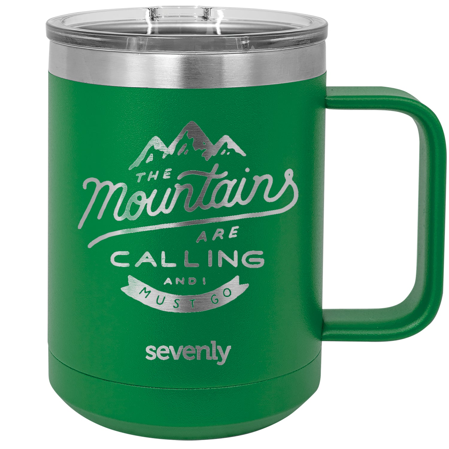 The Mountains Are Calling Insulated Mug Drinkware