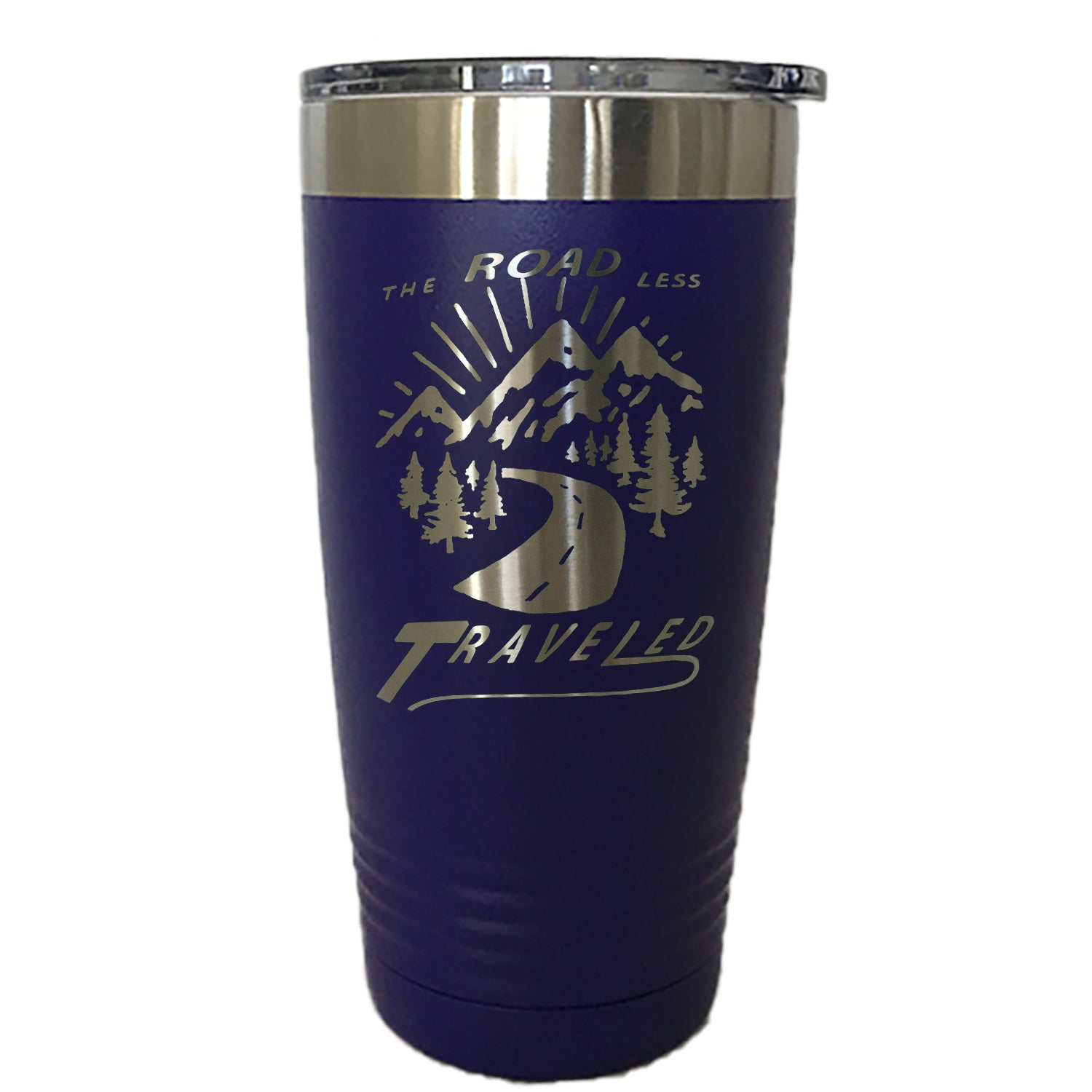 The Road Less Traveled Tumbler Drinkware