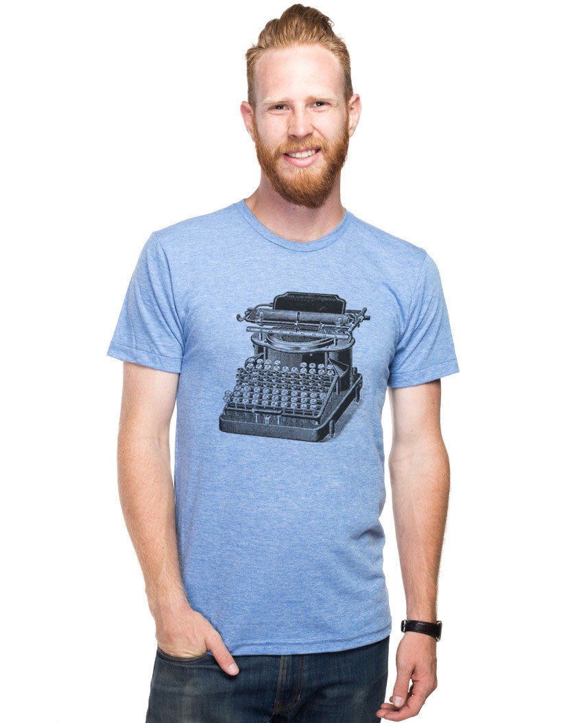 Typewriter Fitted Tee
