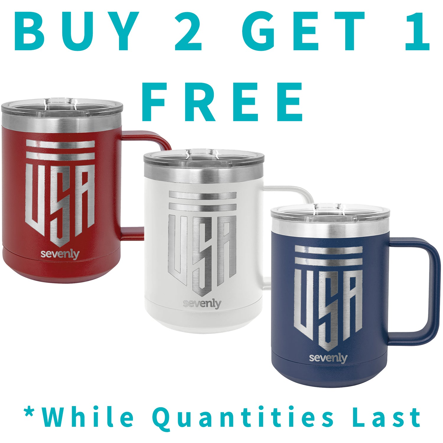 USA Shield Insulated Mug Buy2 Get 1 Free Insulated Mug Drinkware