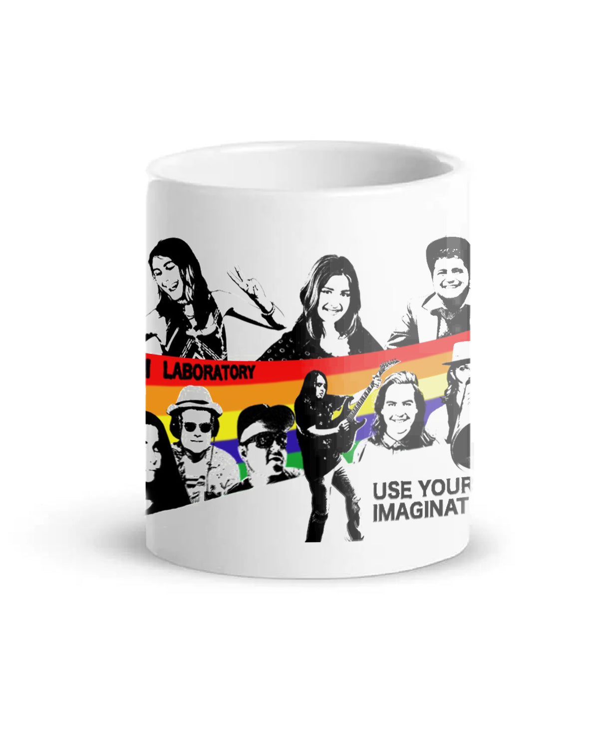 Use Your Imagination Mural Art Coffee Mug