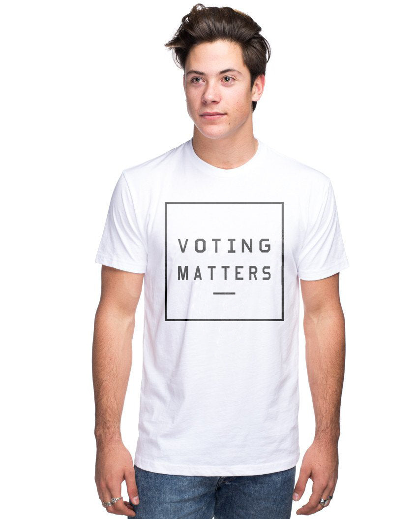 VOTING MATTERS PREMIUM CLASSIC TEE FOR THE FAMILY