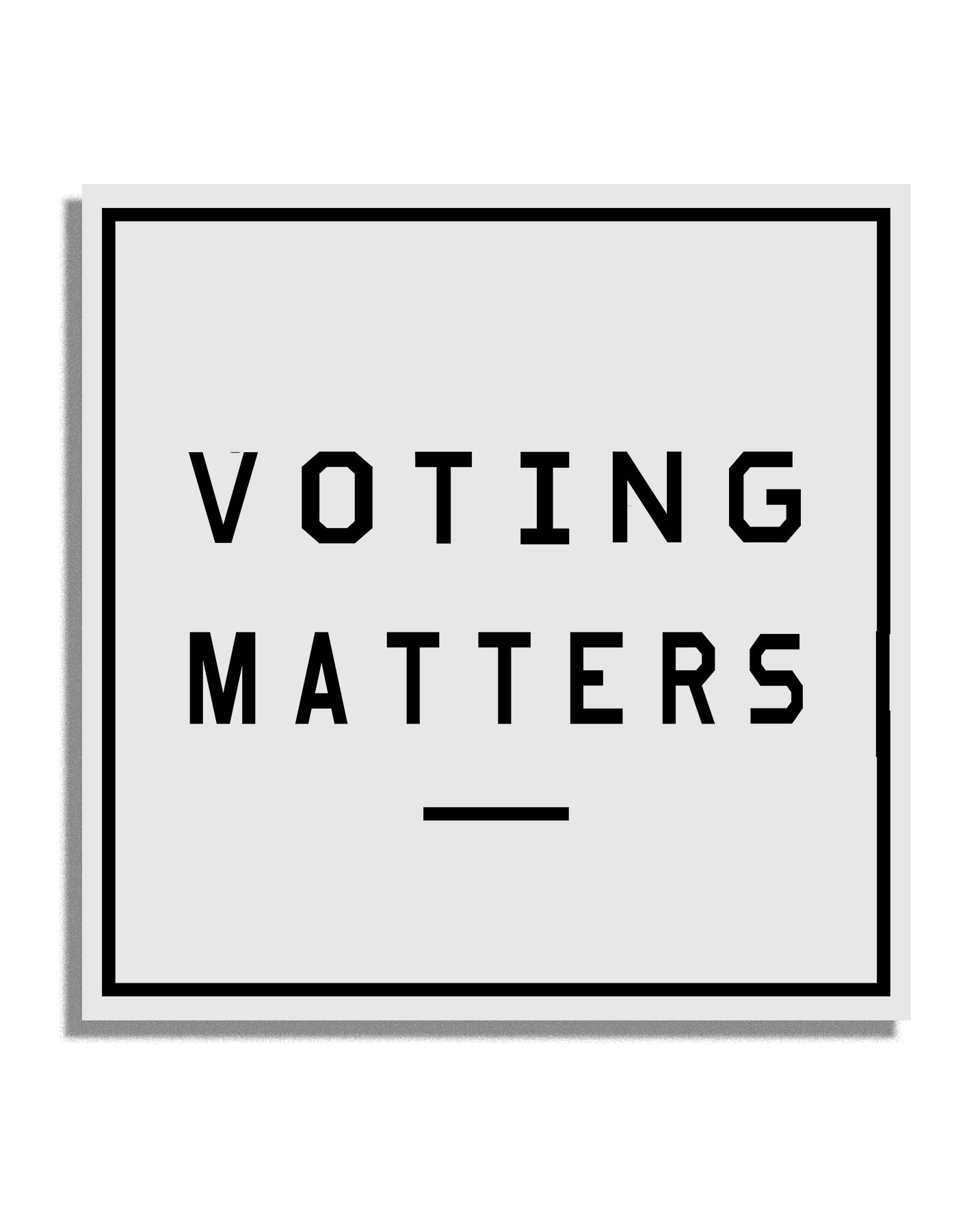 Voting Matters Sticker