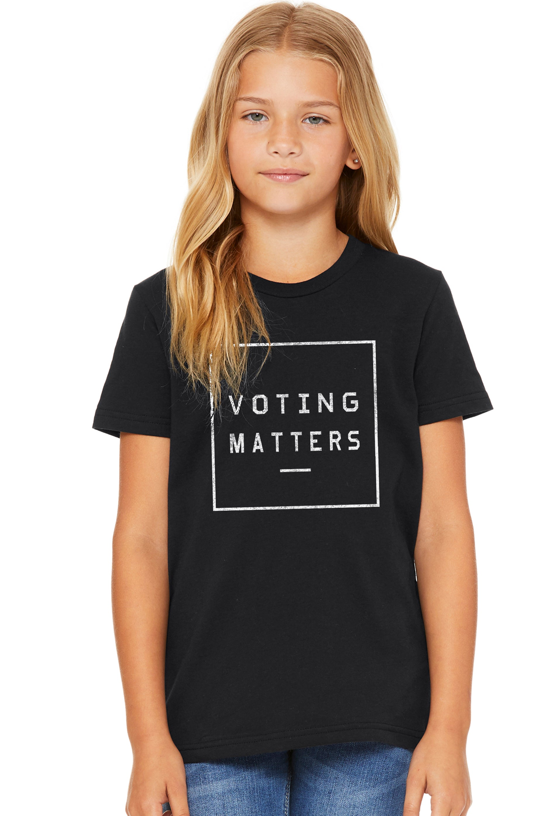 VOTING MATTERS PREMIUM CLASSIC TEE FOR KIDS