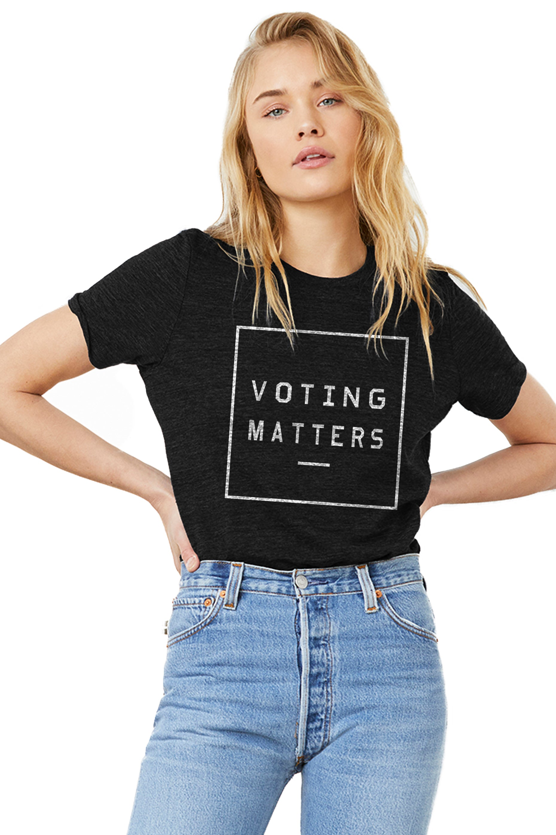VOTING MATTERS PREMIUM CLASSIC TEE FOR ADULTS