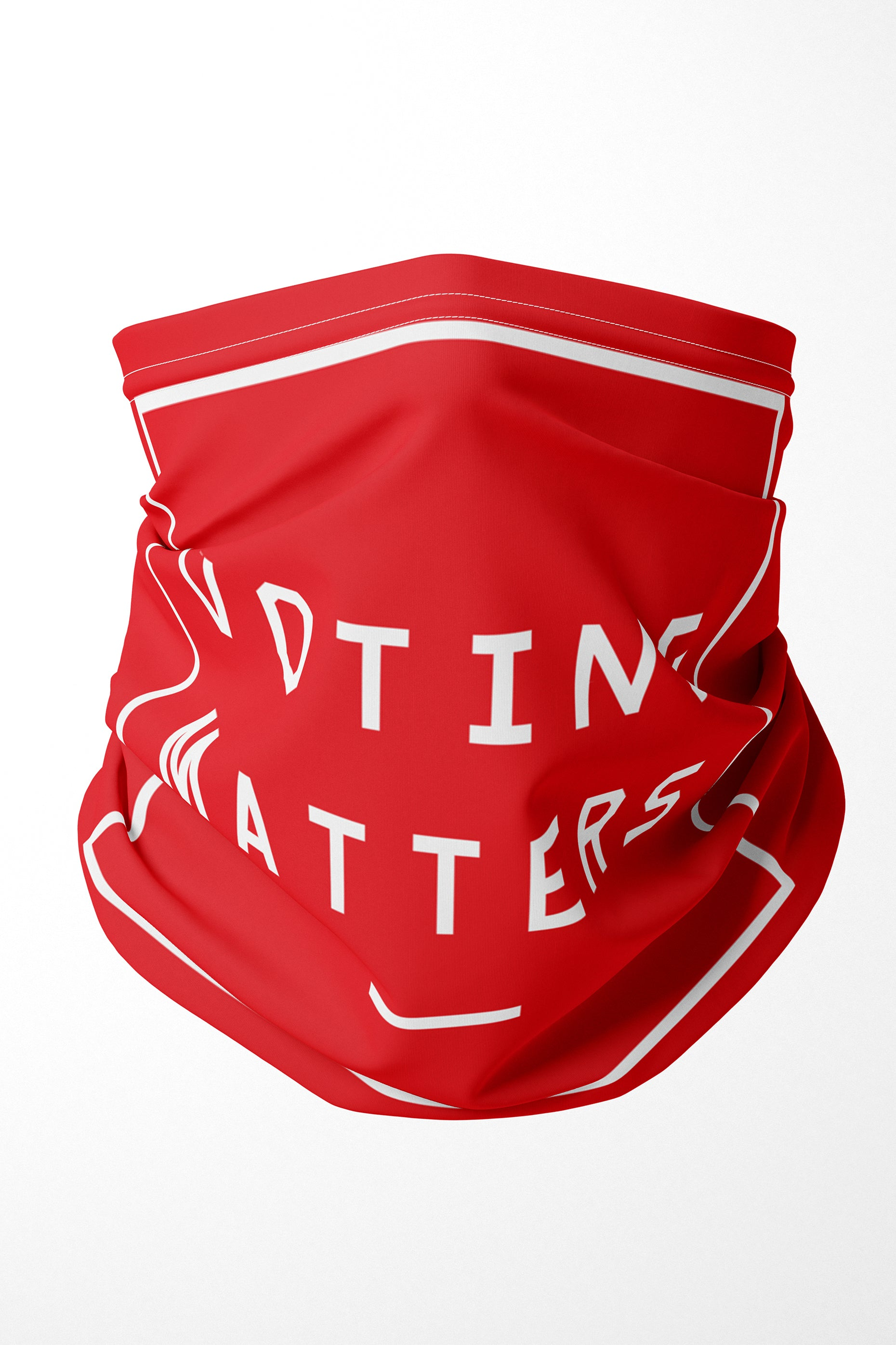 VOTING MATTERS PREMIUM ADULTS FACE MASK NECK GAITER