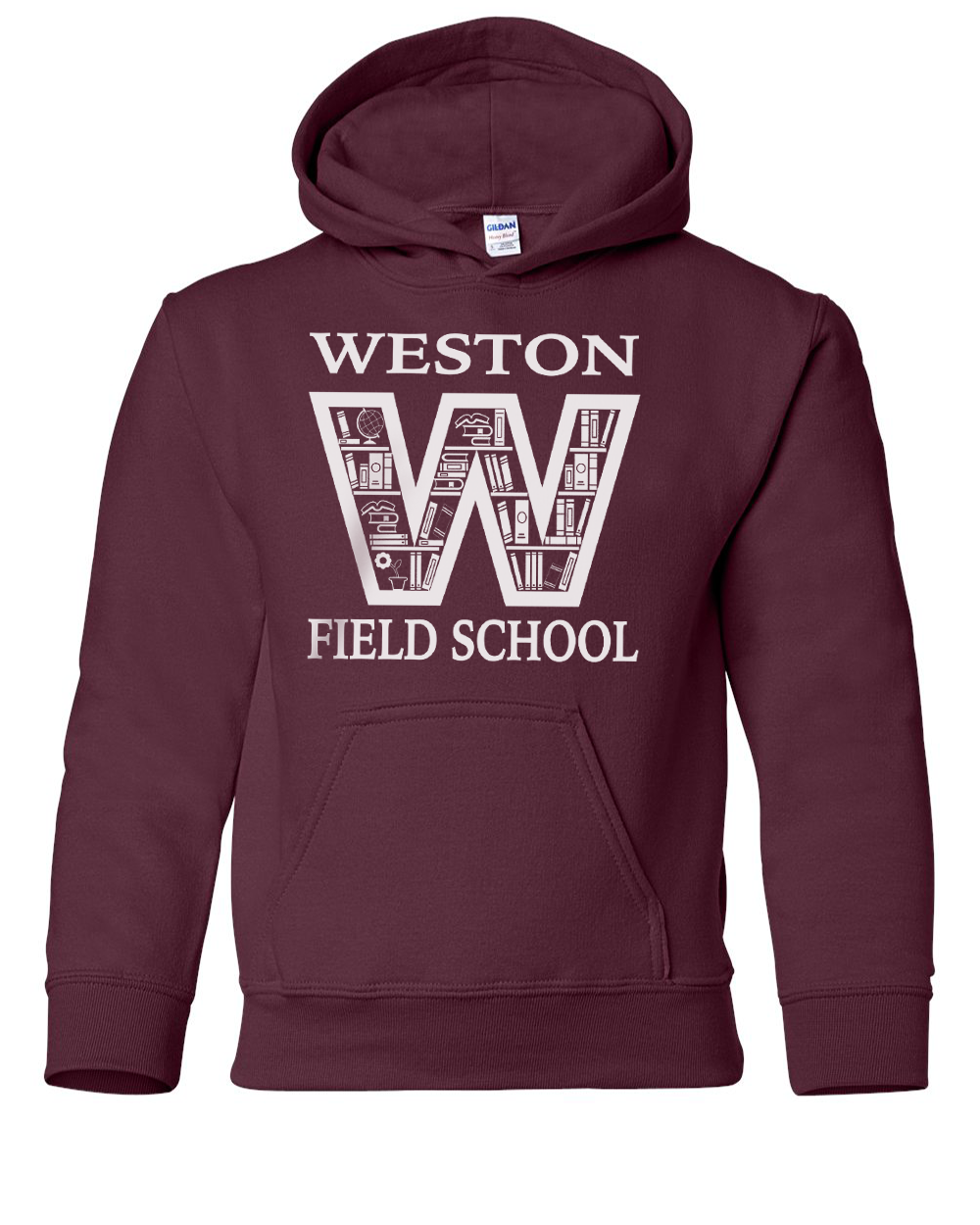 Weston Field School Youth & Adult Pull Over Hoodie