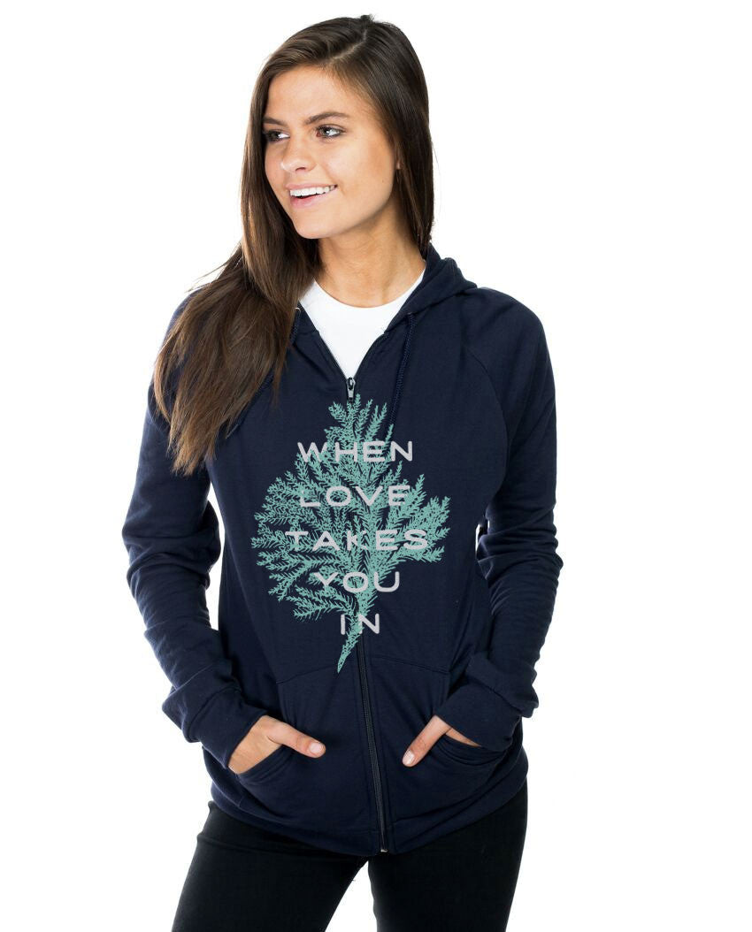 When Love Takes You In Unisex Hoodie