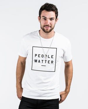 People Matter Unite Premium Fitted Tee