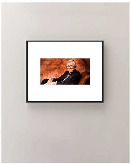 CHUCK COLSON - Iconic Glasses - In Thought - Wall Art