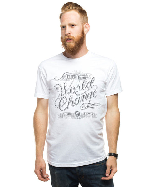 World Change Fitted Tee