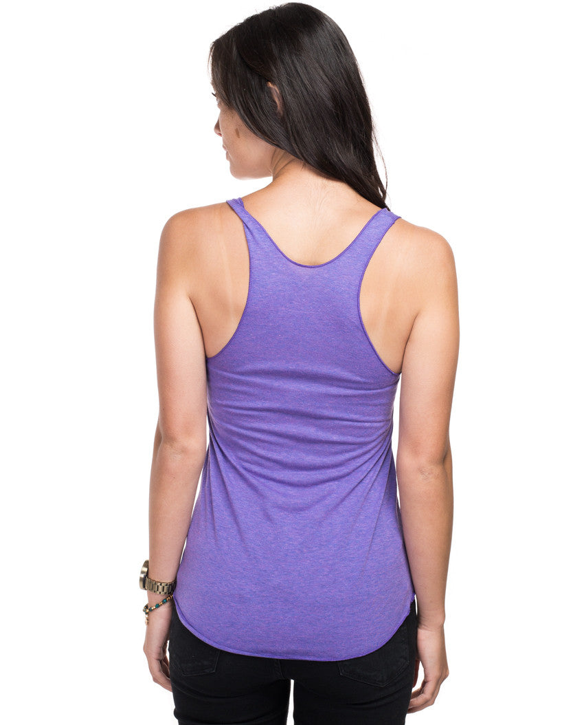 World Change Fitted Racerback Tank
