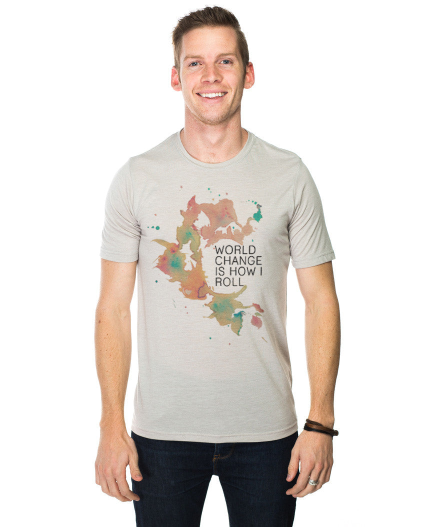 World Change Water Color Tee