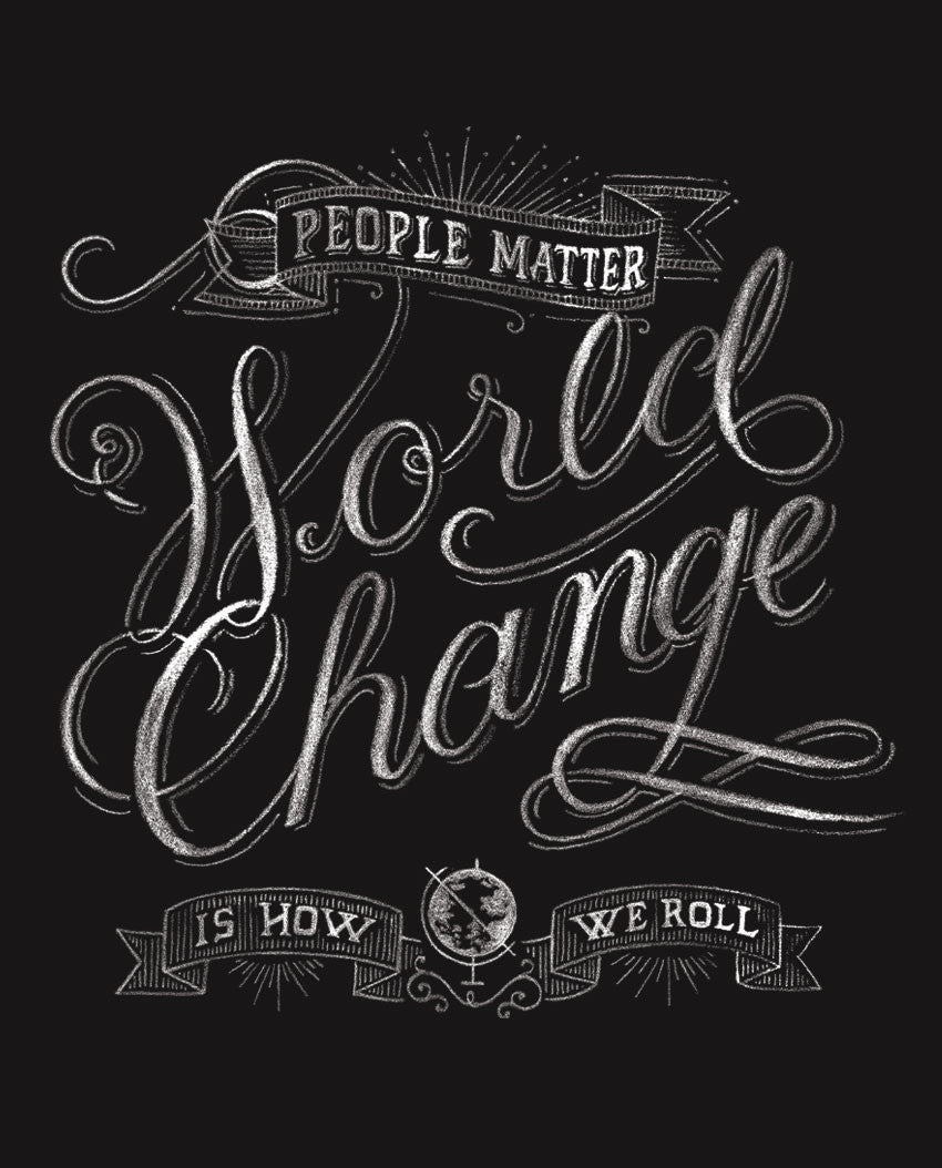 World Change Triblend Racerback Tank