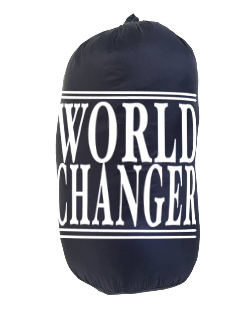 WORLD CHANGER Weatherproof Down Puffer Packable Blanket