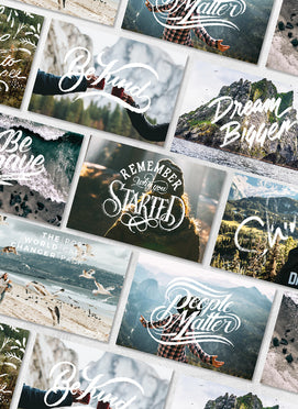 BONUS Sevenly Postcard Pack