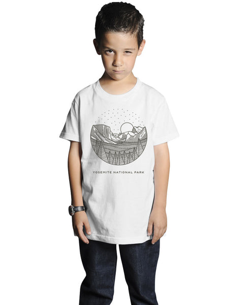 Yosemite Short Sleeve Youth Tee