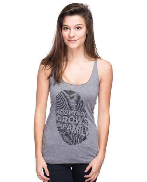 Adoption Grows A Family Triblend Racerback Tank