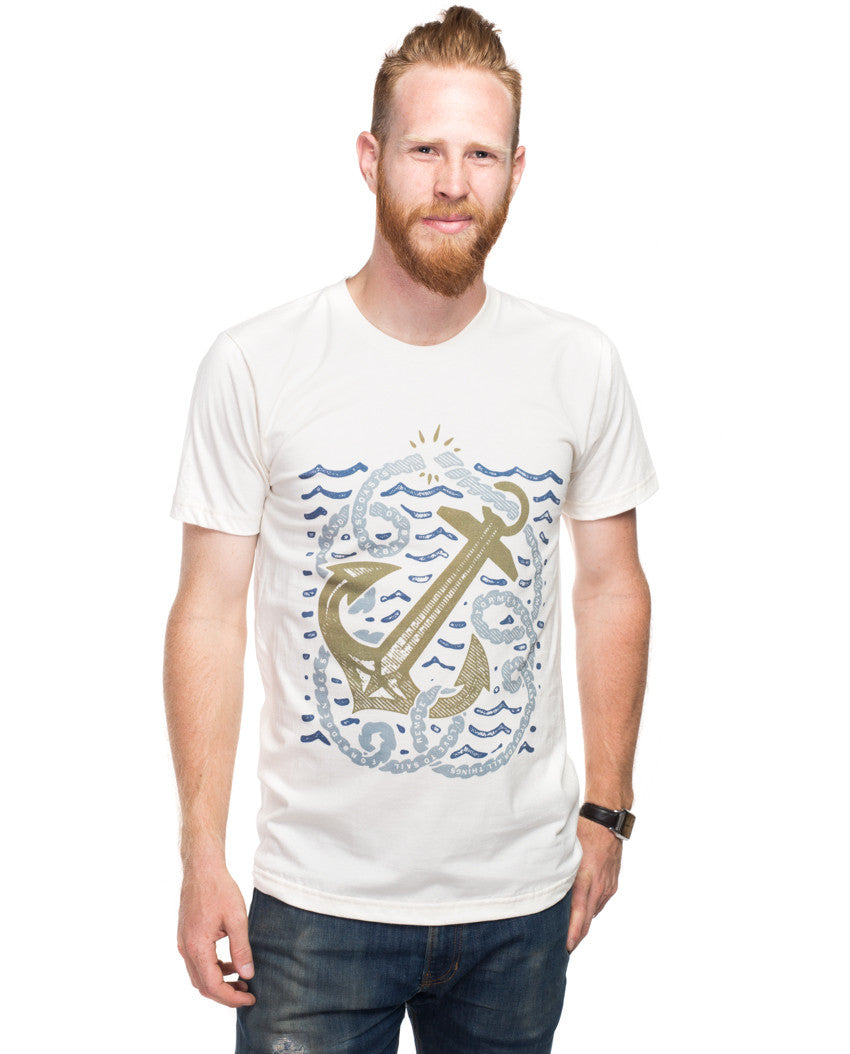 Anchor Rope Fitted Tee
