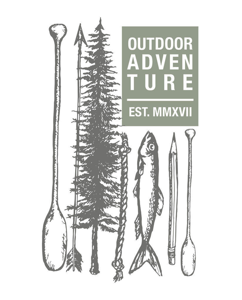 Outdoor Adventure Mens Premium Tee