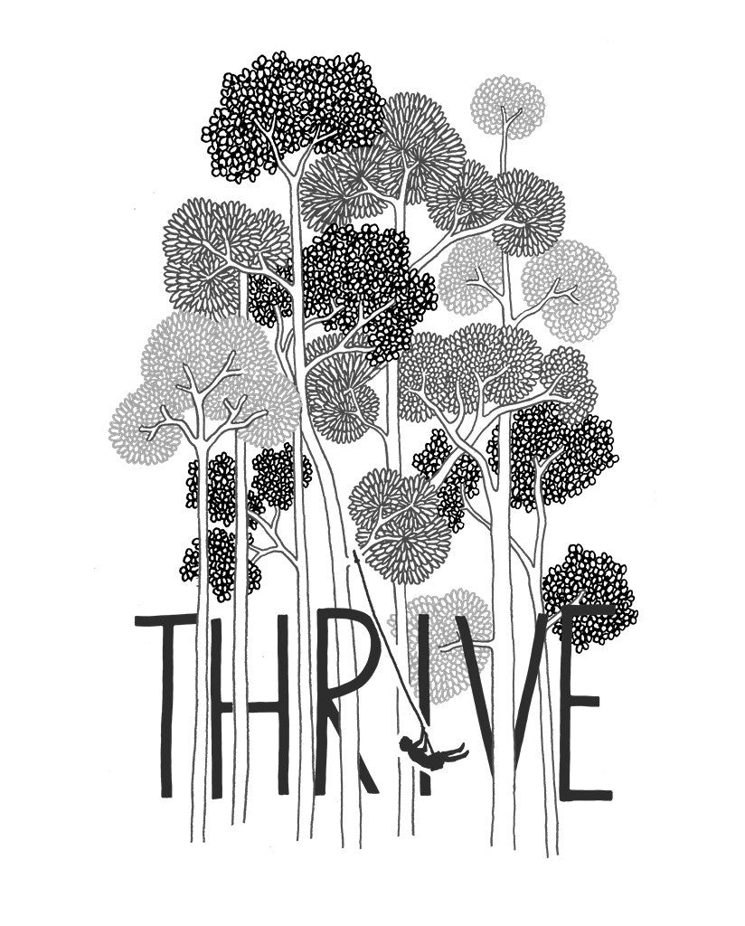 Thrive Womens Flowy Raglan
