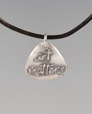 Art Matters Aquilla Sterling Silver Totem