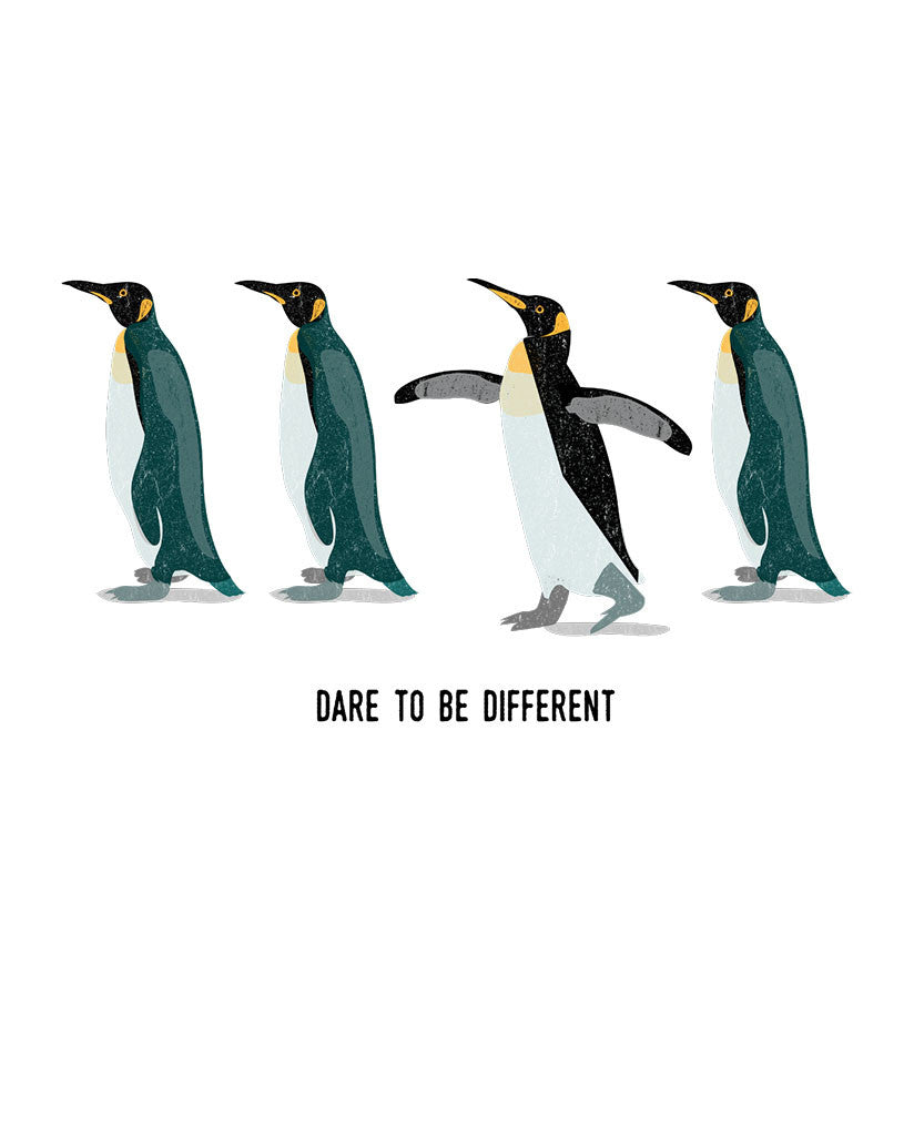 Dare To Be Different Triblend Short Sleeve Tee