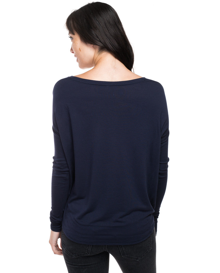 Brave Flowy Long Sleeve Tee