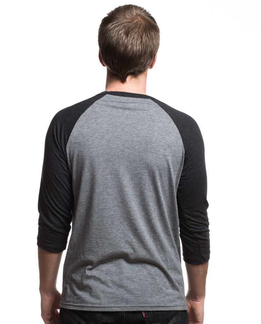Be Brave With Giving Mens Baseball Tee