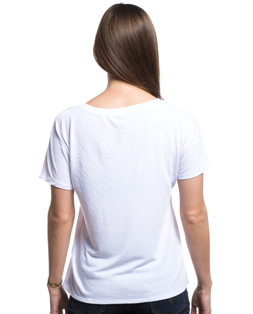 Be Brave With Giving Flowy V Neck